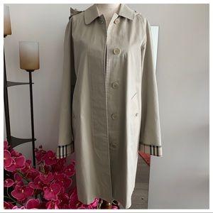 Burberry London Hooded Raincoat